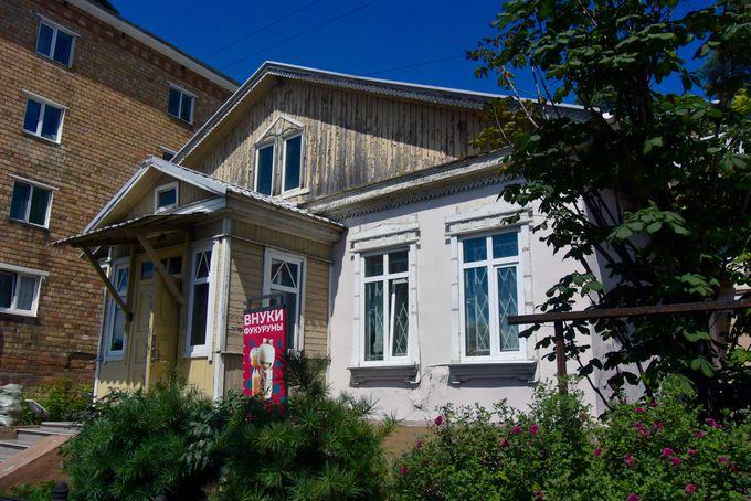 建物とともに残るウラジオストクに住んだ家族の物語