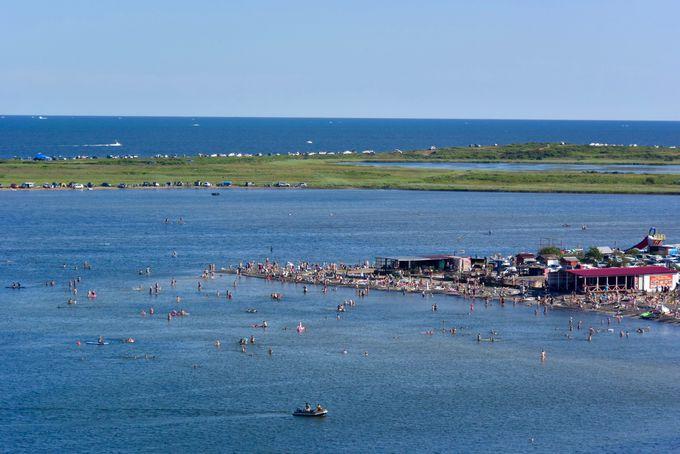 人気観光地ルースキー島に作られた水族館