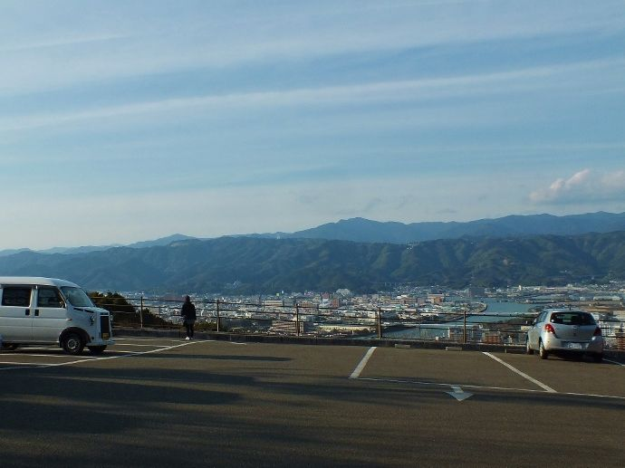 駐車場から展望台まで全てが絶景の五台山