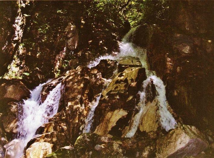 巨大な「手」が滝となって襲い掛かる