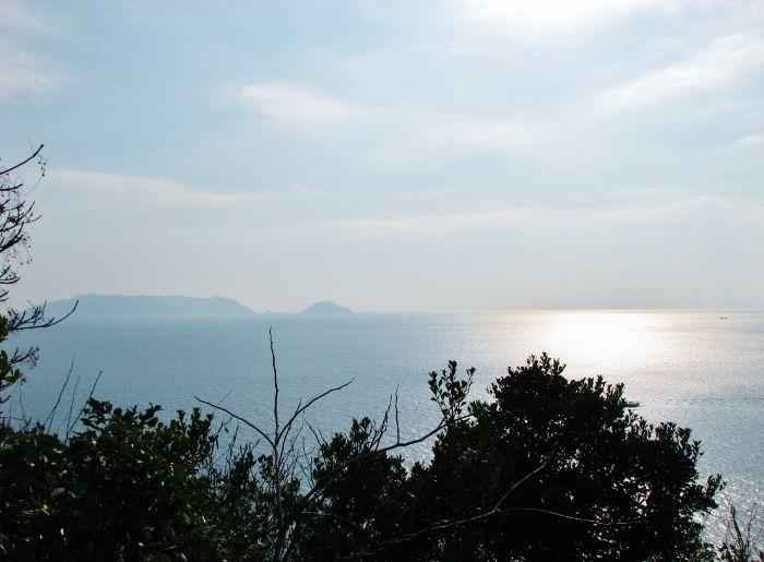 ミニ霊山と超細い橋立