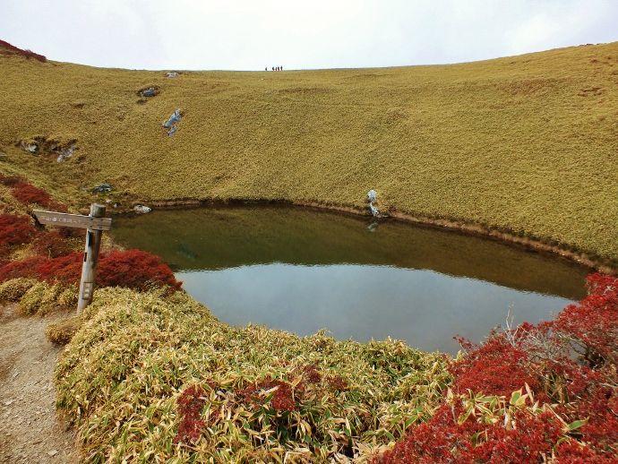 山上の池は邪馬台国の溜池?