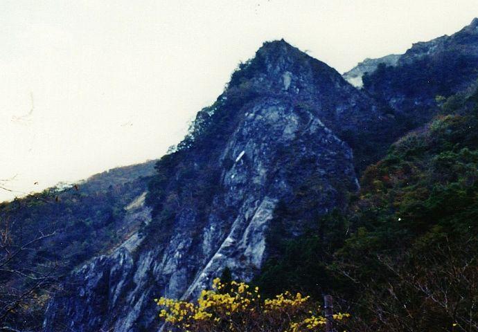 小岐須渓谷随一の景勝地
