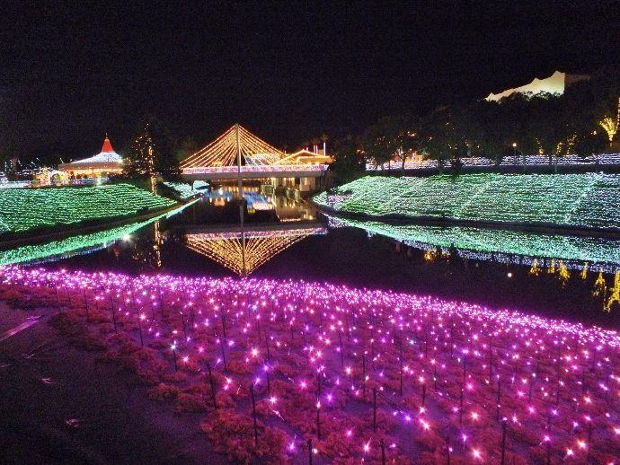 中国・四国最大と四国第2位の規模を誇る香川のイルミネーション