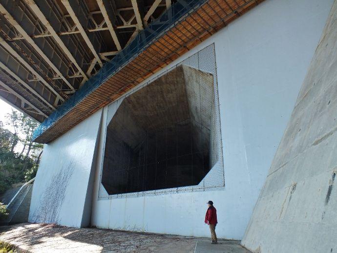 一基目を上回る特大トンネル