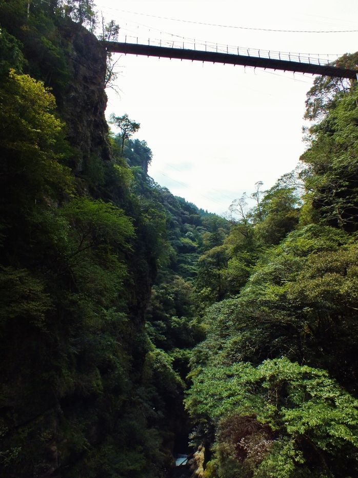渡れない四国一高い人道吊橋