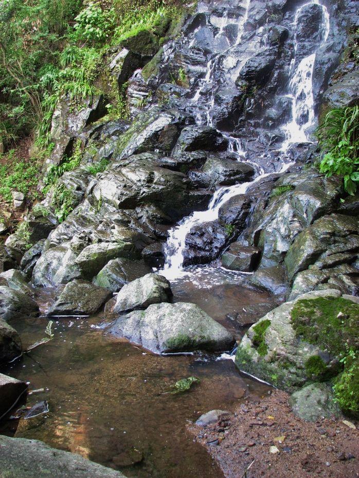 香川県一の滝を独り占め