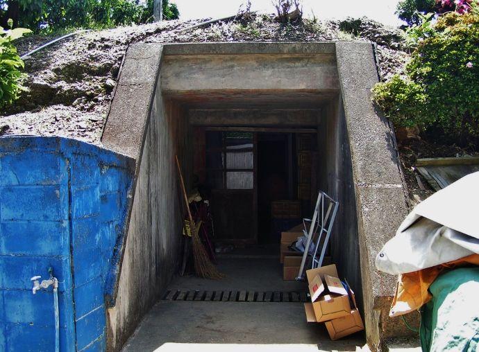 形状が異なる第一砲台の観測所