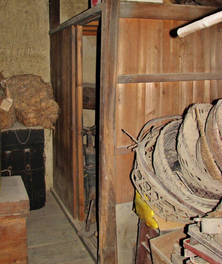 龍馬の使用した掛敷布団と枕が