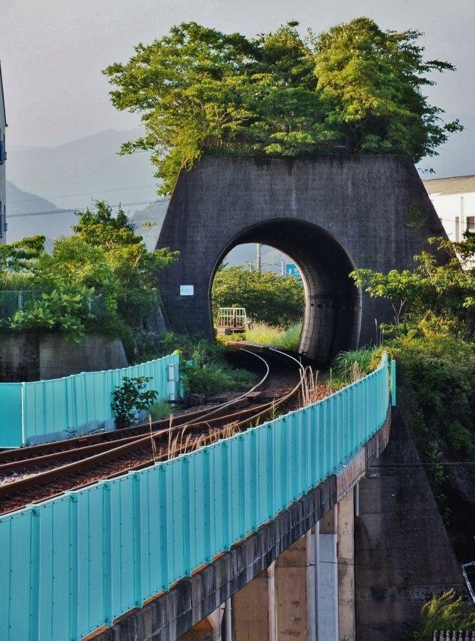 山がないのにトンネル?町内トンネル