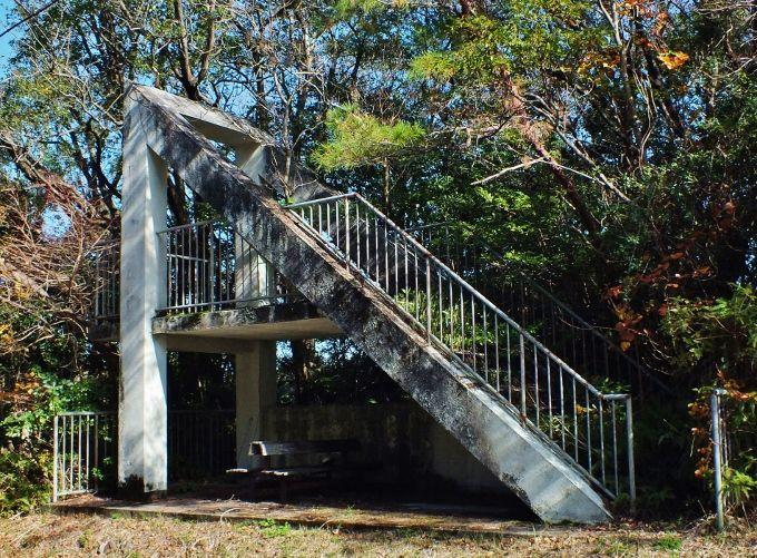 「階段だけの階段」と日本一の化石漣痕