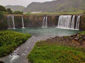 大分県豊後大野市の三つのナイアガラ!原尻の滝・沈堕の滝・蝙蝠の滝