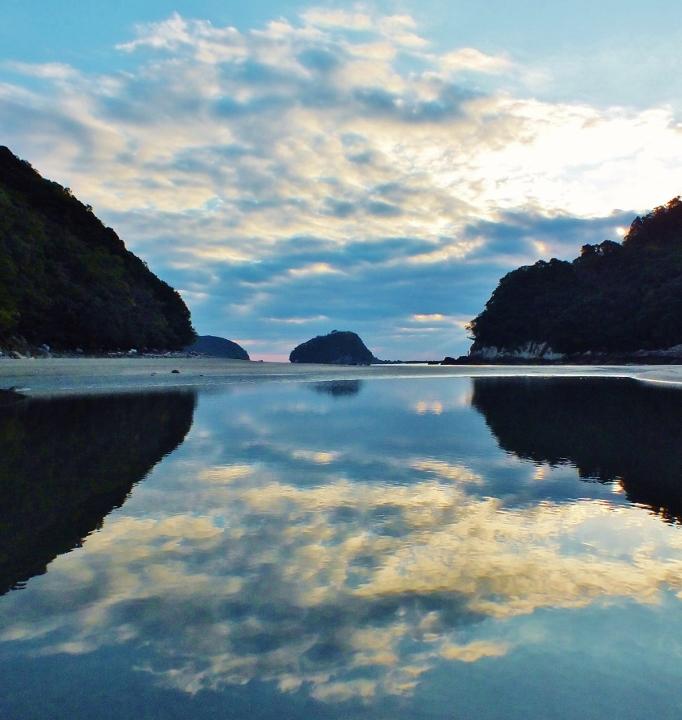 高知のウユニ塩湖・赤葉島エンジェルロード
