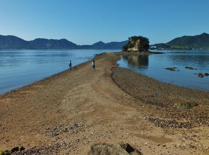愛媛・しまなみ海道のモンサンミッシェル!?大角豆島等の陸繋島群
