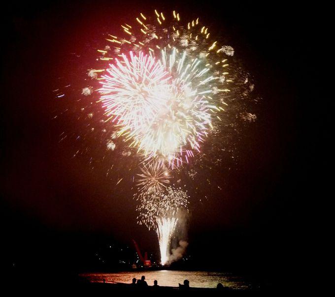 300年の歴史を誇る熊野最大の花火大会