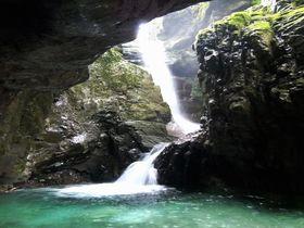 紀伊半島にこんな神秘的な滝があった!古座川源流〜植魚の滝