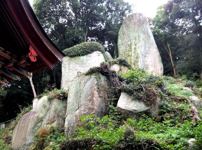 神の降臨を感じる聖なる場、岩上神社の神籬岩へ!