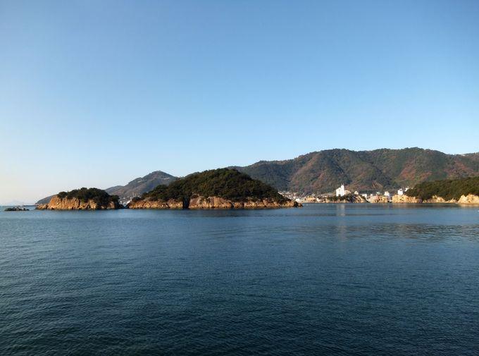 太古の自然が残る神秘のパワースポット「仙酔島」