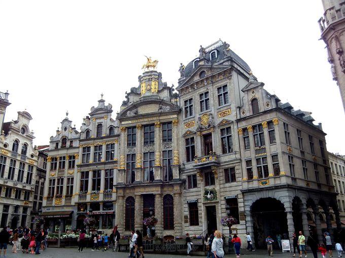 世界遺産・グランプラスの広場から、ブリュッセル散策!