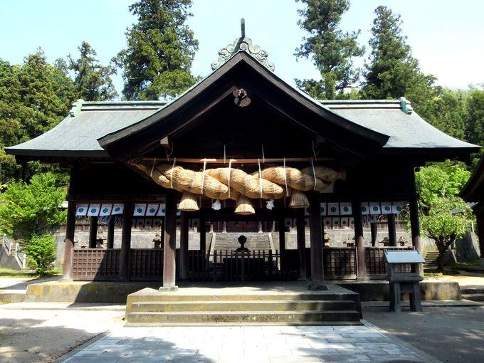 黄泉の国と深いつながりがある古社・揖夜(いや)神社