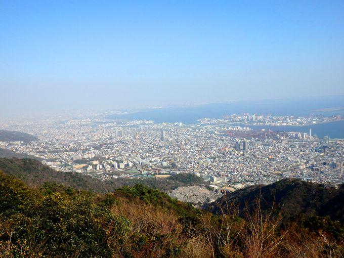 外国人にも人気!摩耶山・掬星台から神戸を一望