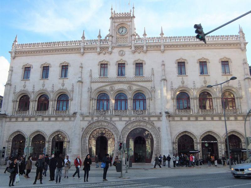 リスボンの中心地、ロシオ・エリアで街歩き!
