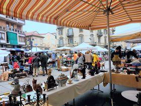 北イタリアの第二日曜はトリノで人気の蚤の市グラン・バロンへ!