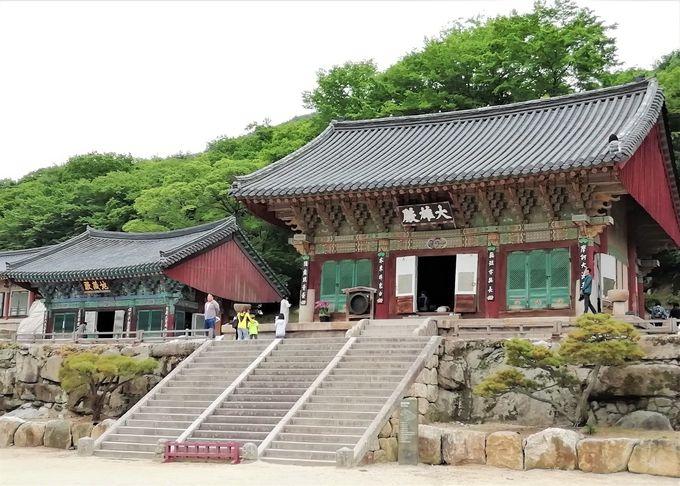 新羅時代からの歴史がある、禅宗の総本山へ