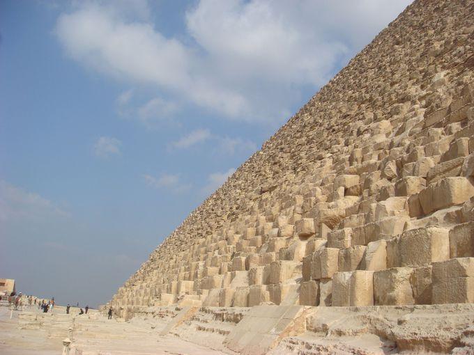 1.クフ王のピラミッド