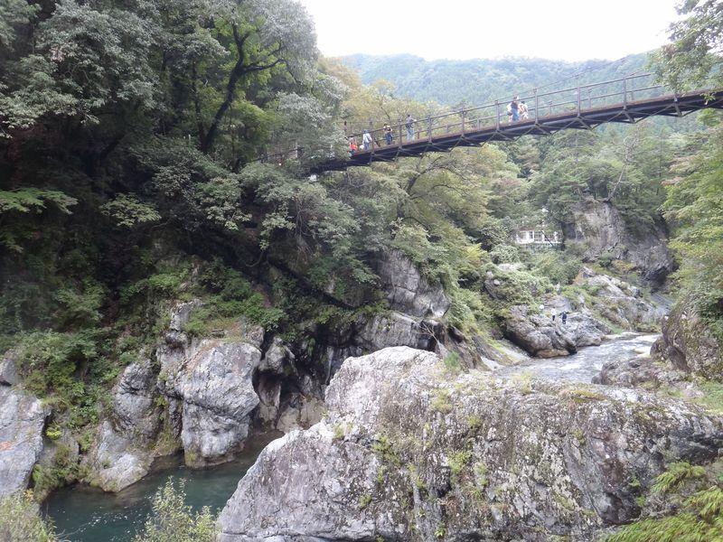 圧倒される渓谷の絶景!奥多摩「鳩ノ巣渓谷」ウォーキングトレイル
