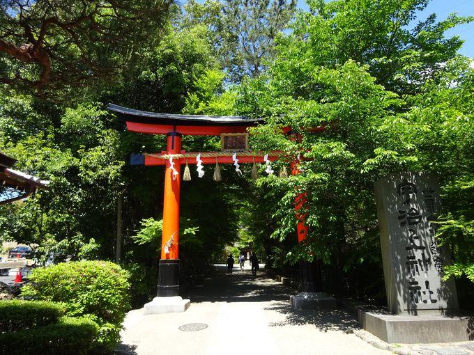 朝日山のふもとに鎮座する世界遺産「宇治上神社」