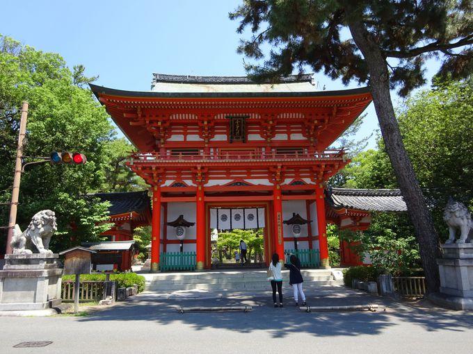 金閣寺から徒歩23分:今宮神社