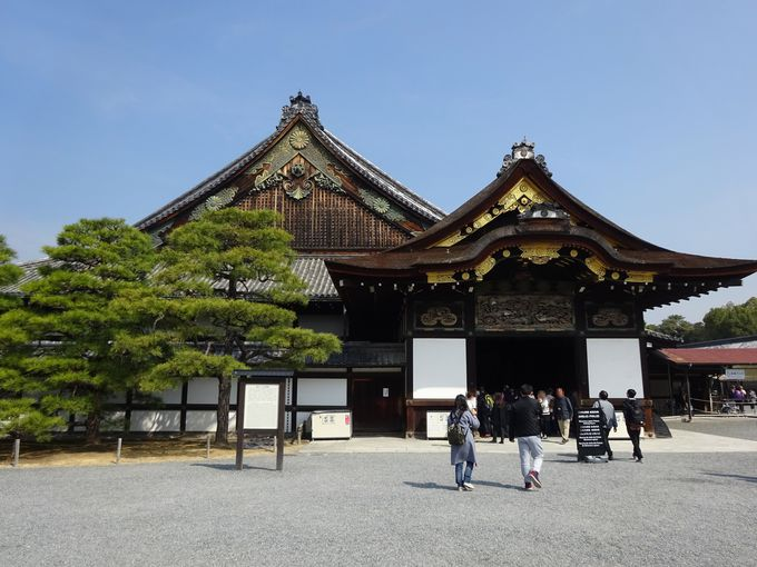 午後:世界遺産「二条城」で寺社だけでない京都を