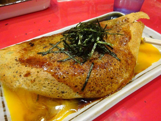 祇園のお手頃グルメの定番!「壹銭洋食」の京都らしいお好み焼き