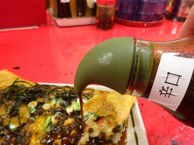 祇園名物グルメの壹銭洋食はソースが美味しく具材も豊富で栄養満点