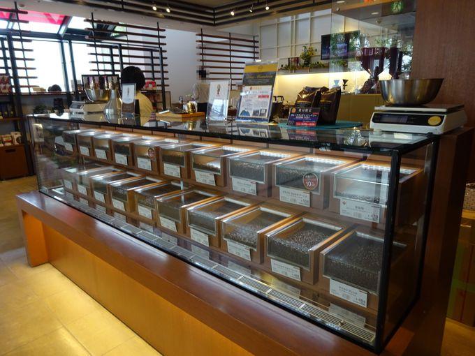 小川珈琲本店のコーヒー豆やスイーツはお土産にも最適