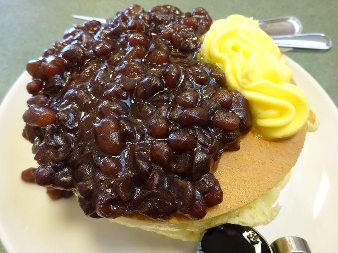小倉バターホットケーキ