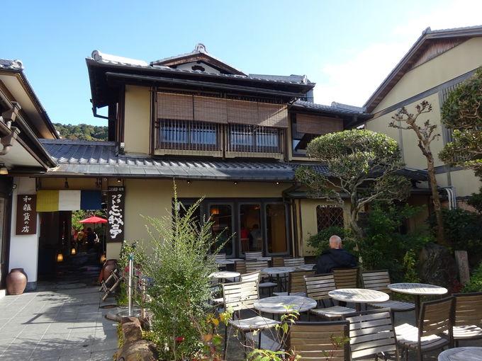 産寧坂(三年坂)にある抹茶館は京都らしさ漂う和カフェ