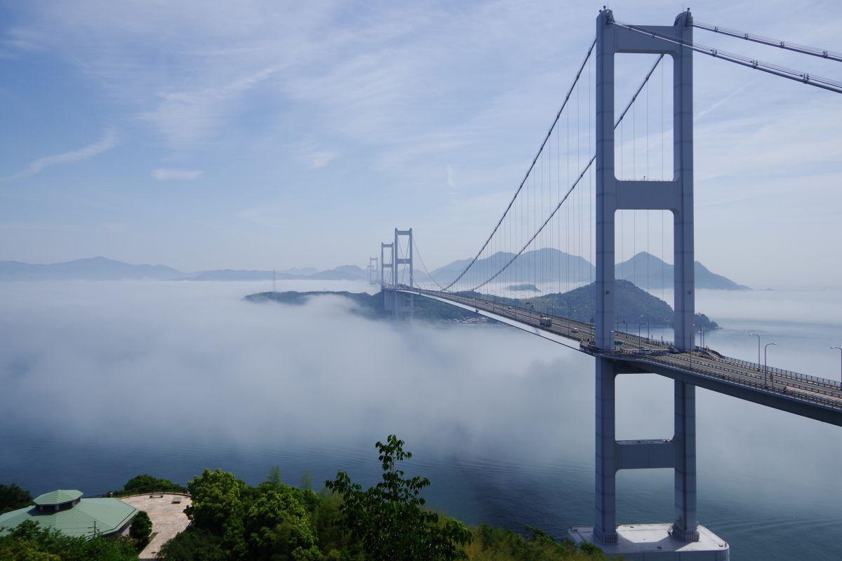 まずは来島海峡大橋の絶景スポット「糸山公園」へ行こう!