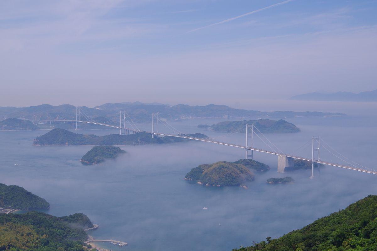 来島海峡大橋もうひとつの展望スポット「亀老山展望台」