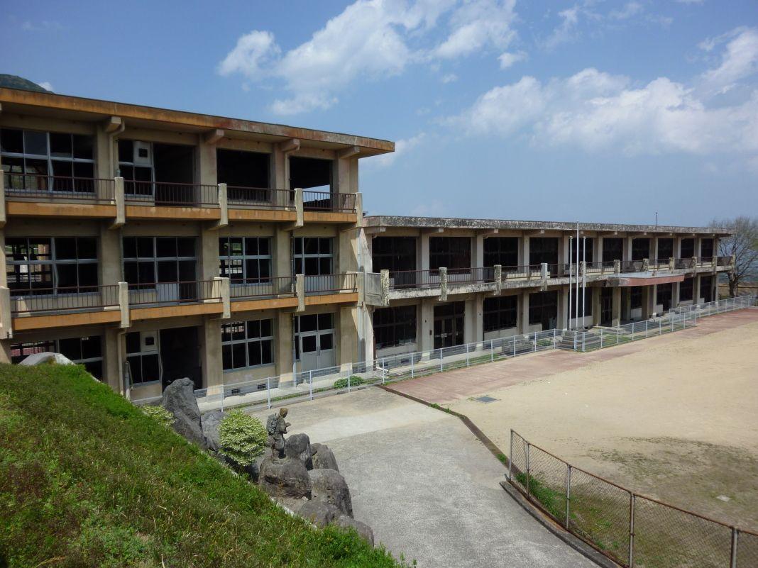 あわせて見ておきたい被災した旧大野木場小学校