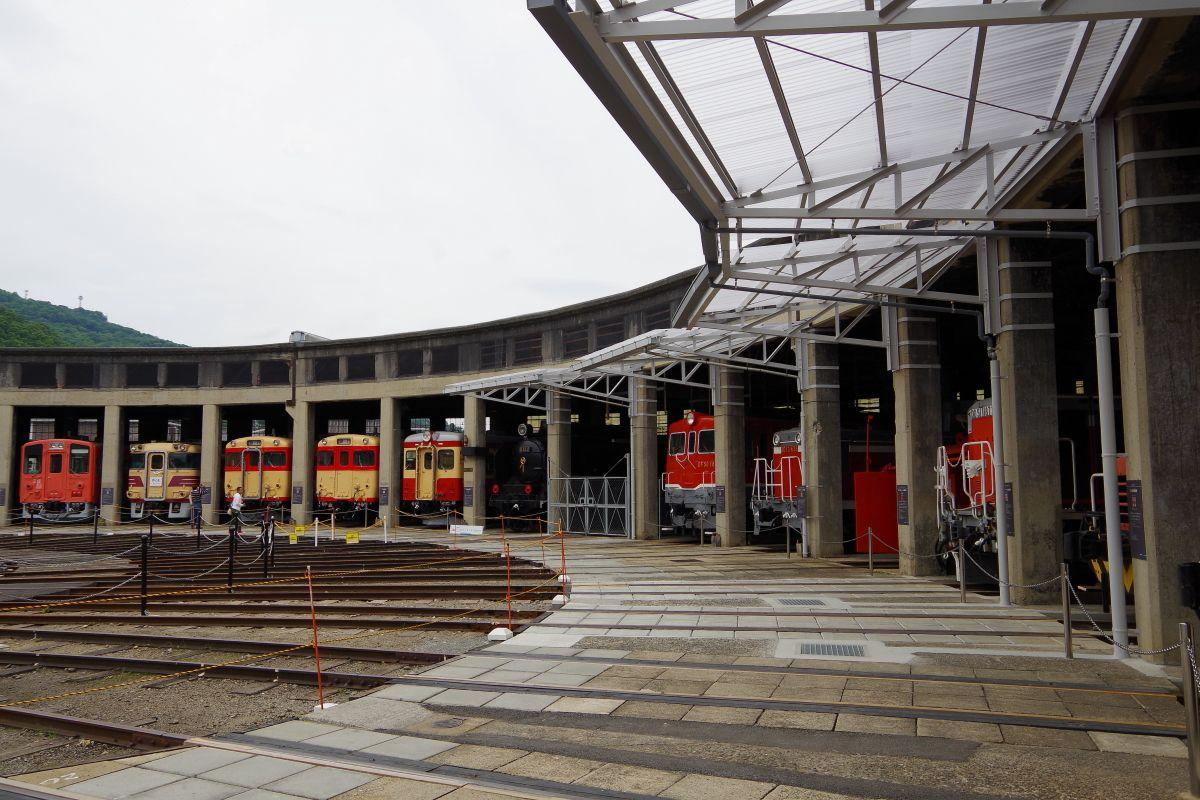 12.津山まなびの鉄道館(岡山県)