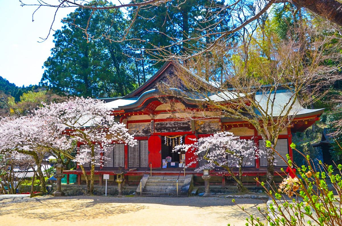 談山神社のシンボル「十三重塔」
