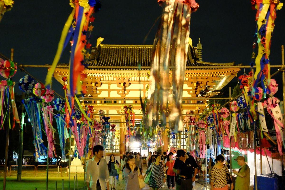 星に願いを!大阪「七夕のゆうべin四天王寺」で夏の夜を満喫しよう