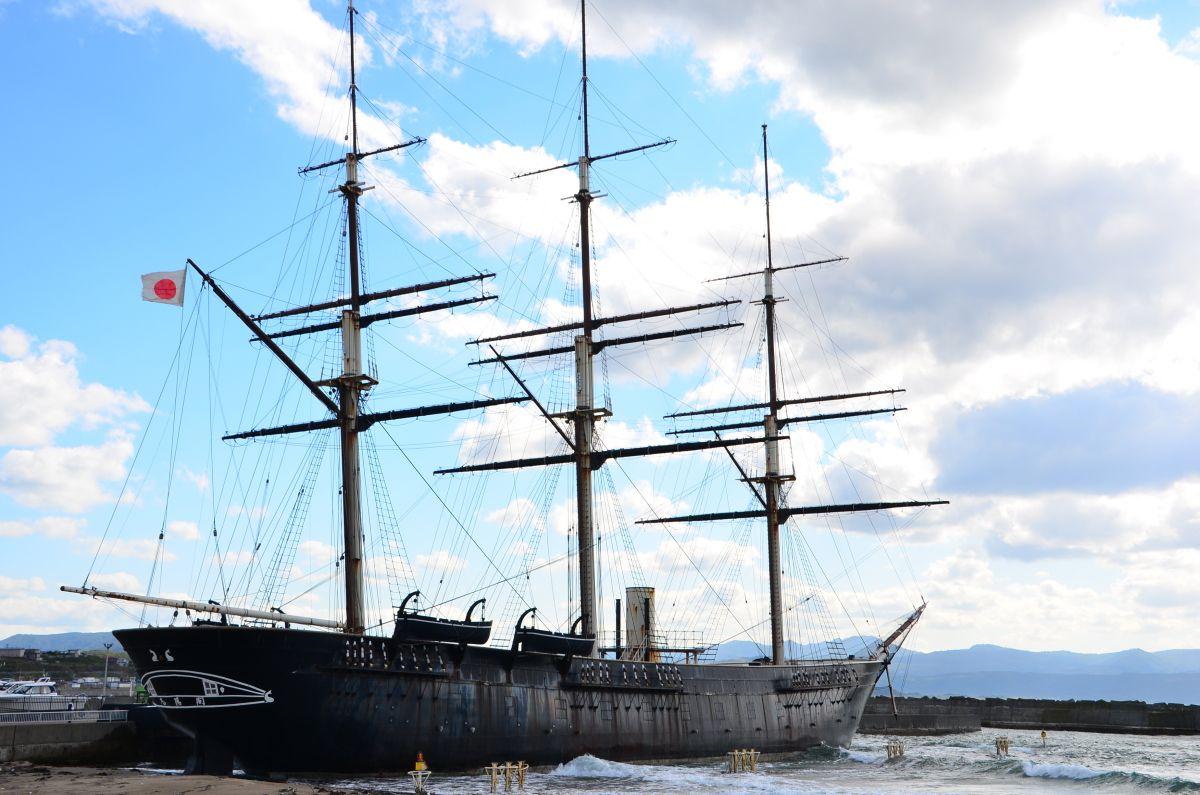 北海道江差沖に眠る江戸幕府最強軍艦「開陽丸」で壮大な歴史ロマンに浸ろう