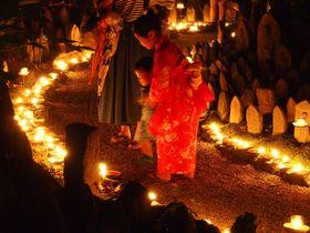 幽玄の世界!奈良元興寺「地蔵会万灯供養」で幻想空間を満喫