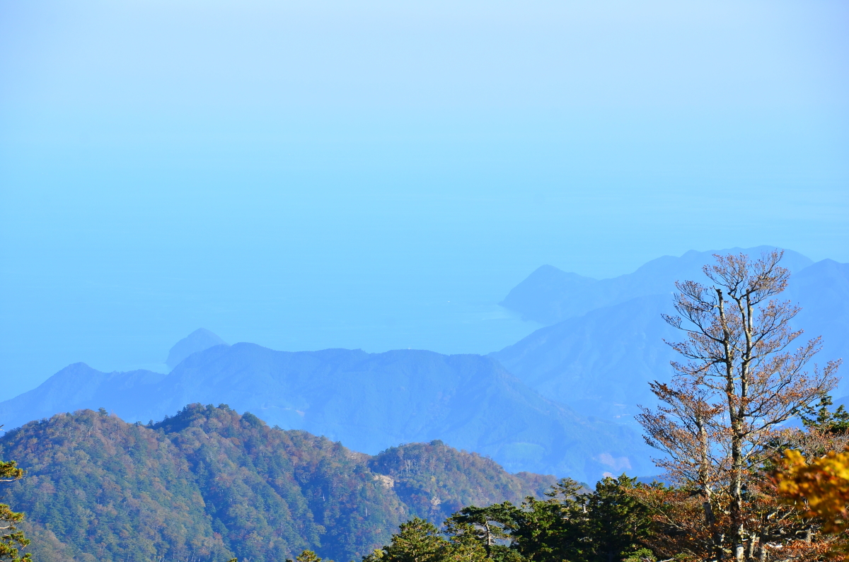 大台ヶ原の最高峰「日出ヶ岳」からの絶景