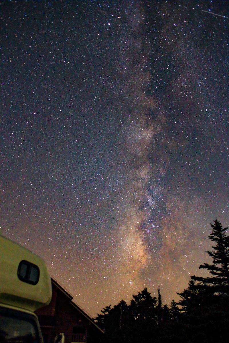 大台ヶ原は「天の川撮影スポット」としても人気