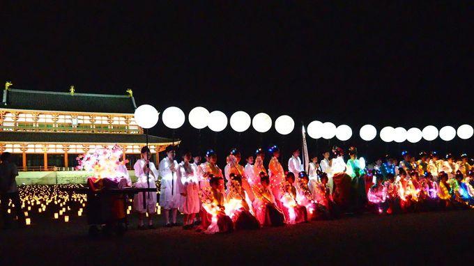 祭りのクライマックス「天平七夕行列」