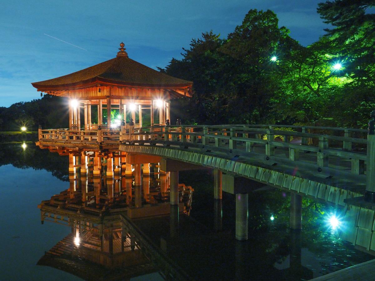 夏の奈良の夜を彩る「ライトアッププロムナード・なら2021」